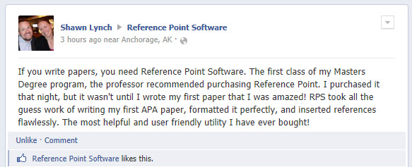 Reference Point Customer Comments